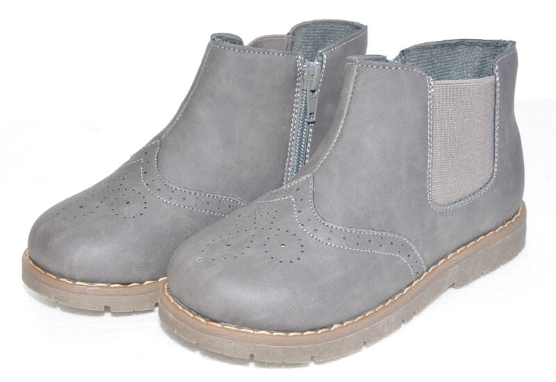 Ash Toddler boots kids boots grey with zip closure