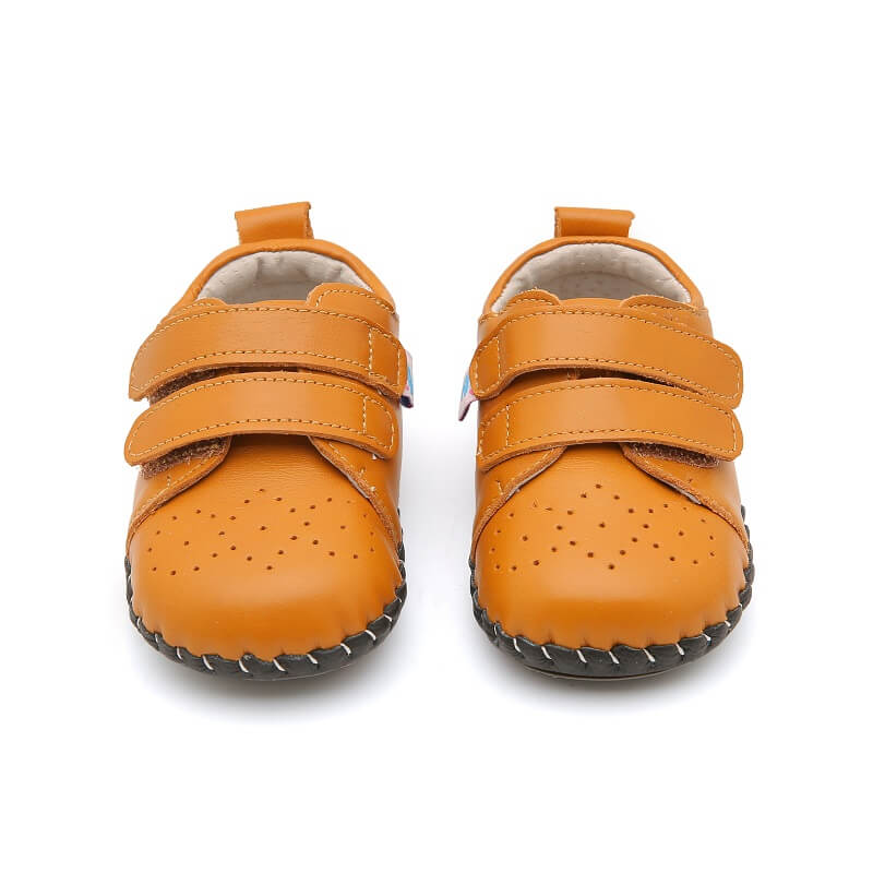 First walker baby shoes genuine leather flexible sole