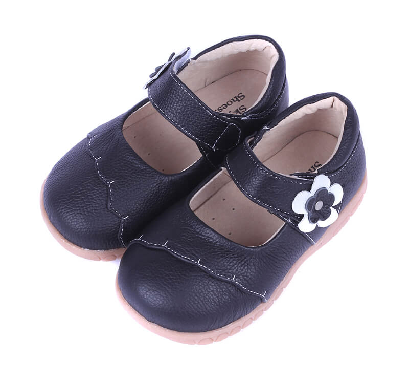 Lacey black toddler mary jane shoes