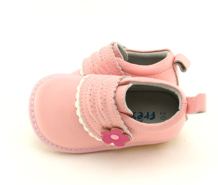 Charlotte toddler sneakers pink leather toddler shoes