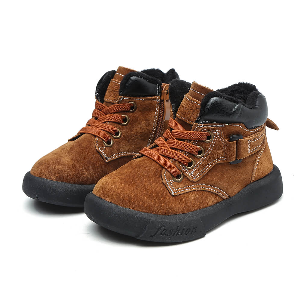Dozer brown toddler boys boots