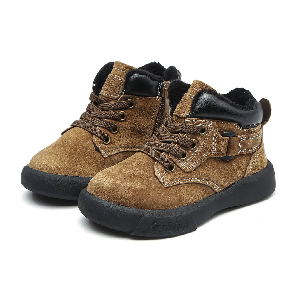 Dozer khaki toddler boy boots