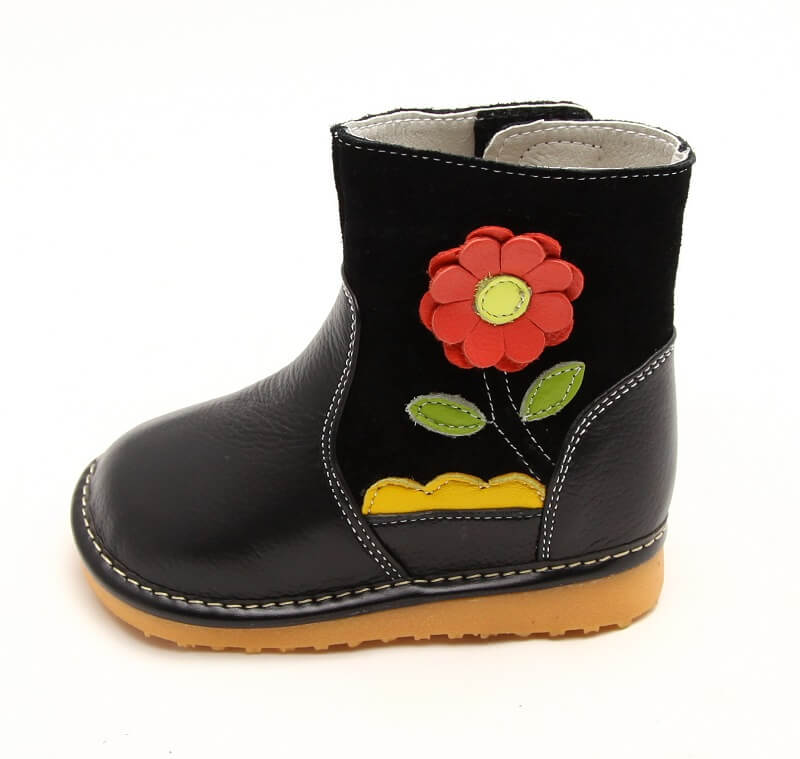 Gerberra toddler girls boots side view
