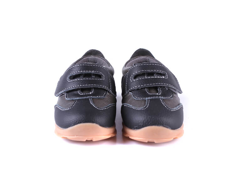 Grasshopper black toddler boys sneakers