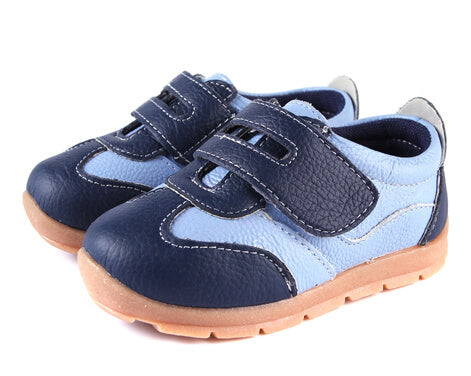 Grasshopper blue toddler sneakers