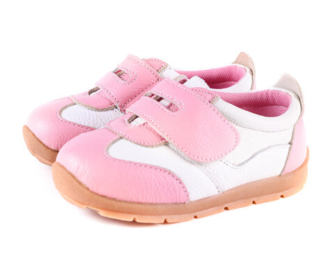 Grasshopper pink toddler girl shoes