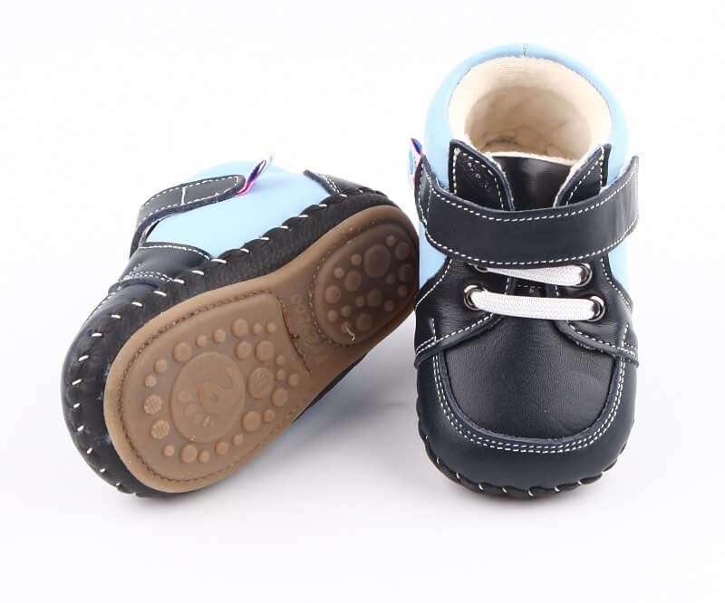 Harry baby boy boots with rubber sole for extra durability