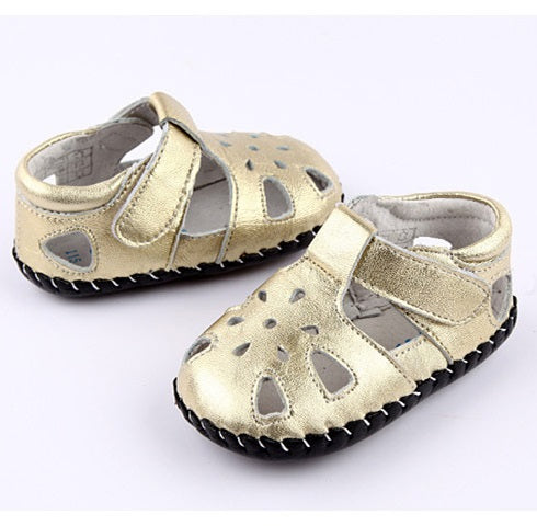 Jewel leather first walker baby girl sandals