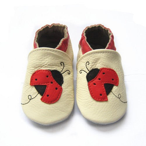 Ladybird baby girl sneakers leather soft sole baby shoes