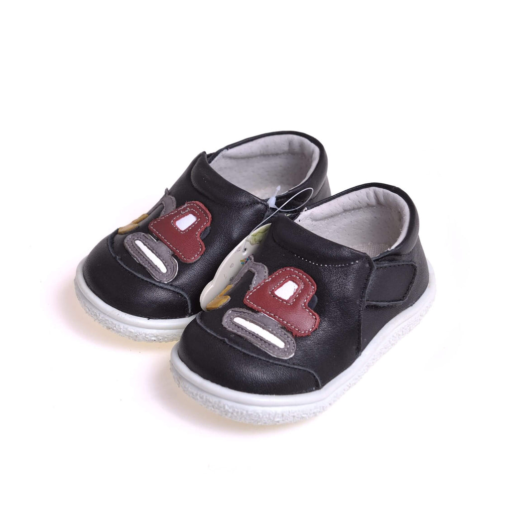 Digger navy baby boys shoes