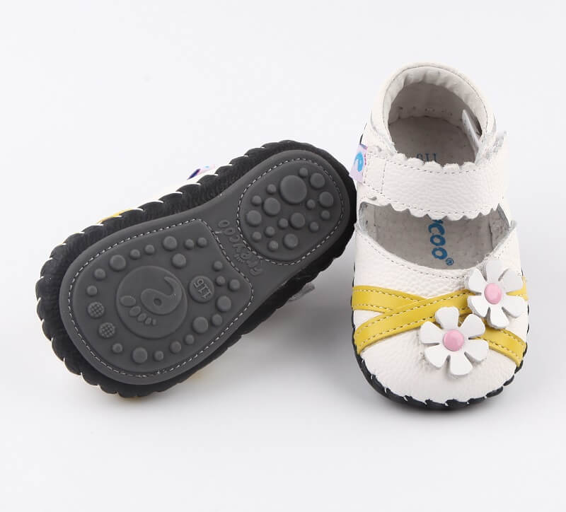 Baby girl first walker shoes thin flexible non skid rubber sole