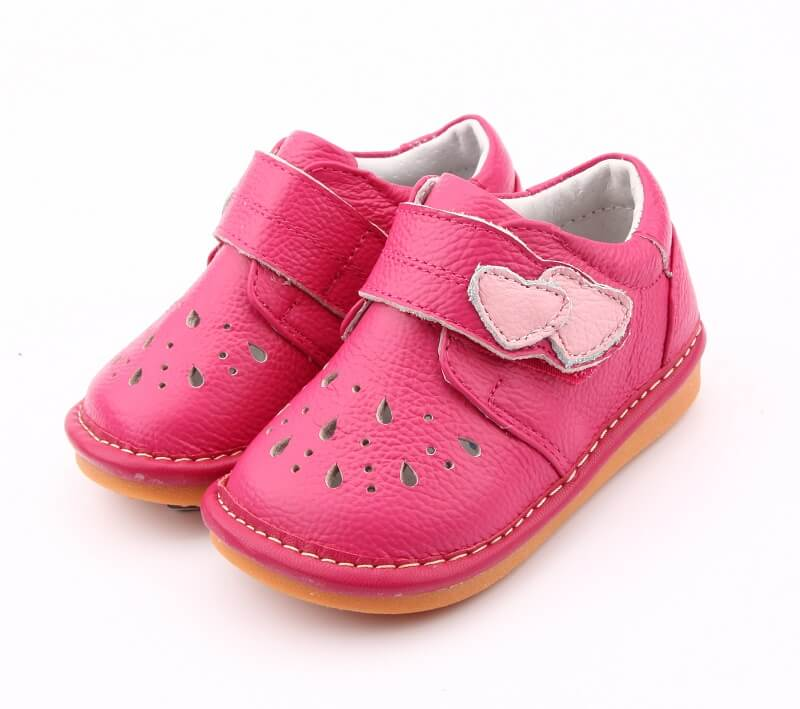 Maisy pink toddler girl shoes