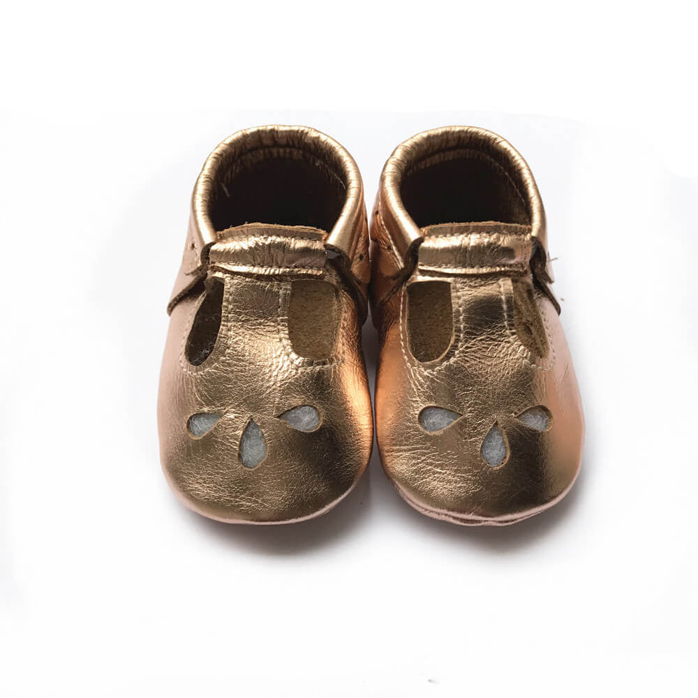 Soft soled baby shoes baby girls sandals baby girl sandals leather rose gold