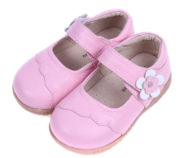 Lacey pink toddler mary-janes