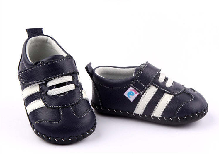 Racer navy baby sneakers first walker baby shoes