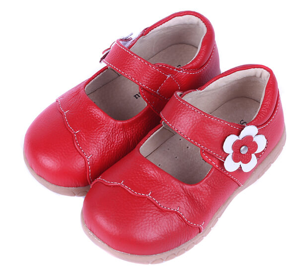 Lacey red toddler mary-jane shoes