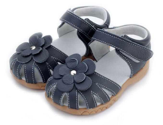 Rosie navy toddler girls sandals