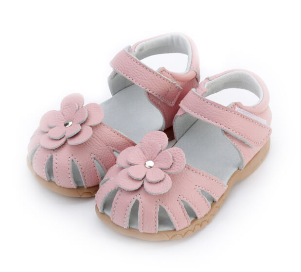 Rosie pink toddler girls sandals