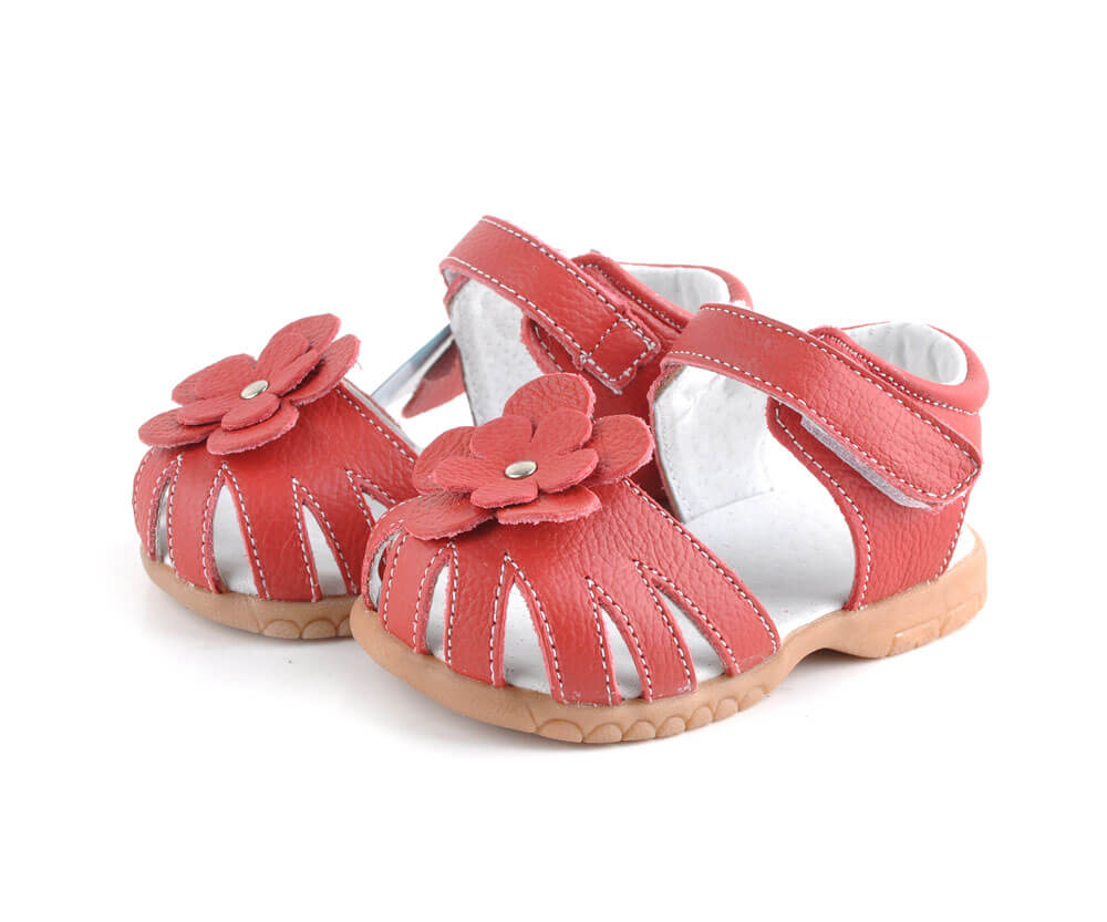 Rosie red toddler girls sandals