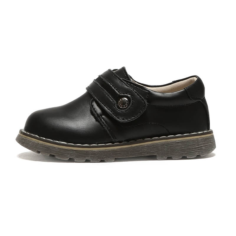 Sawyer toddler boys leather shoes