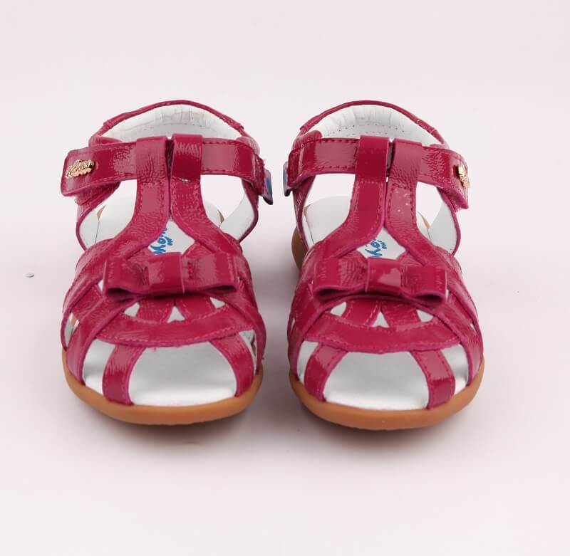 Girls sandals nz Soiree pink leather girl sandals