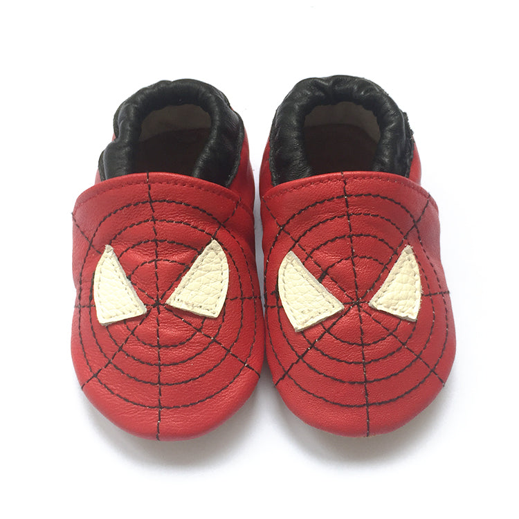 soft sole baby shoes spidey spiderman superhero baby boy sneakers