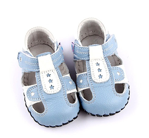 Stargazer blue first walker baby boy sandals