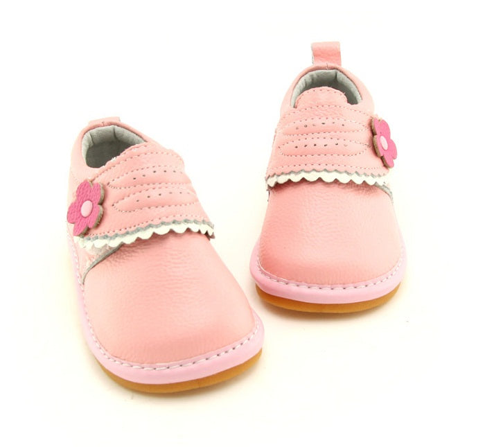 Charlotte toddler girls sneakers pink front view