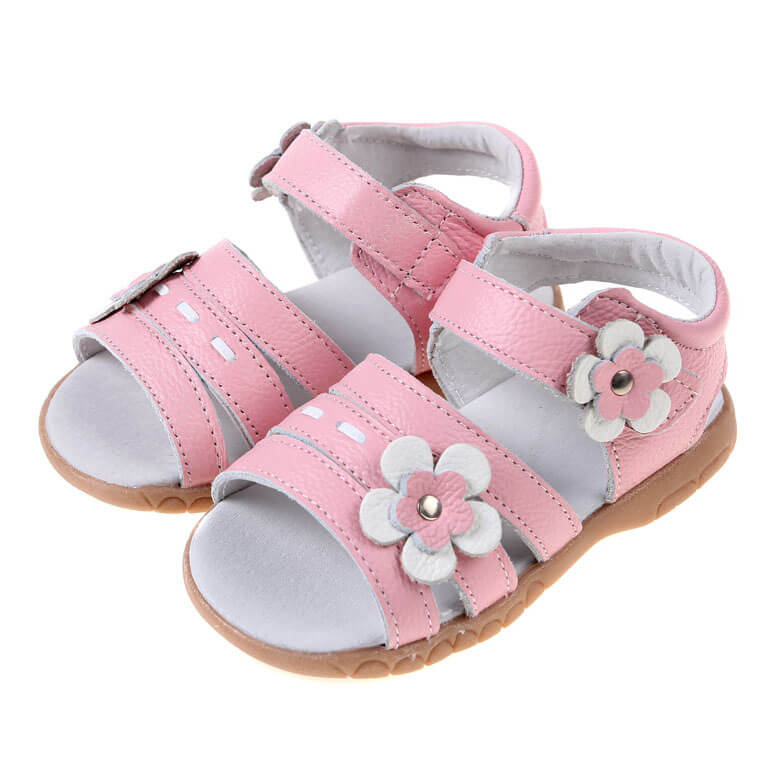 Wonderland pink toddler girls sandals