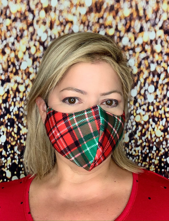 CLASSIC PLAID  MASK