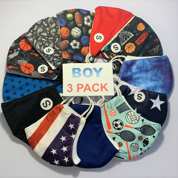 BOY 3 PACK ASSORTED KIDS