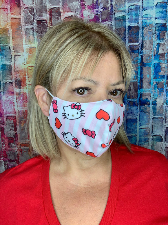 HELLO KITTY THEMED MASK LIGHTWEIGHT