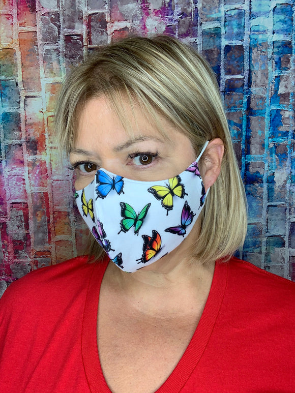 MULTI BUTTERFLY LIGHTWEIGHT MASK