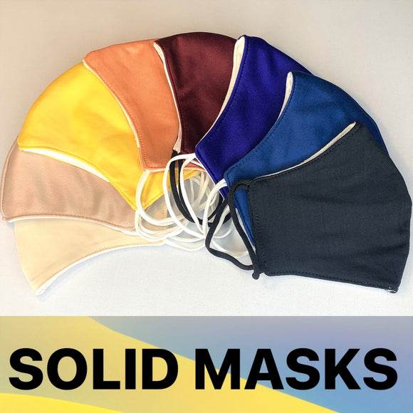 SOLID MASKS LIGHTWEIGHT EASY MATCH