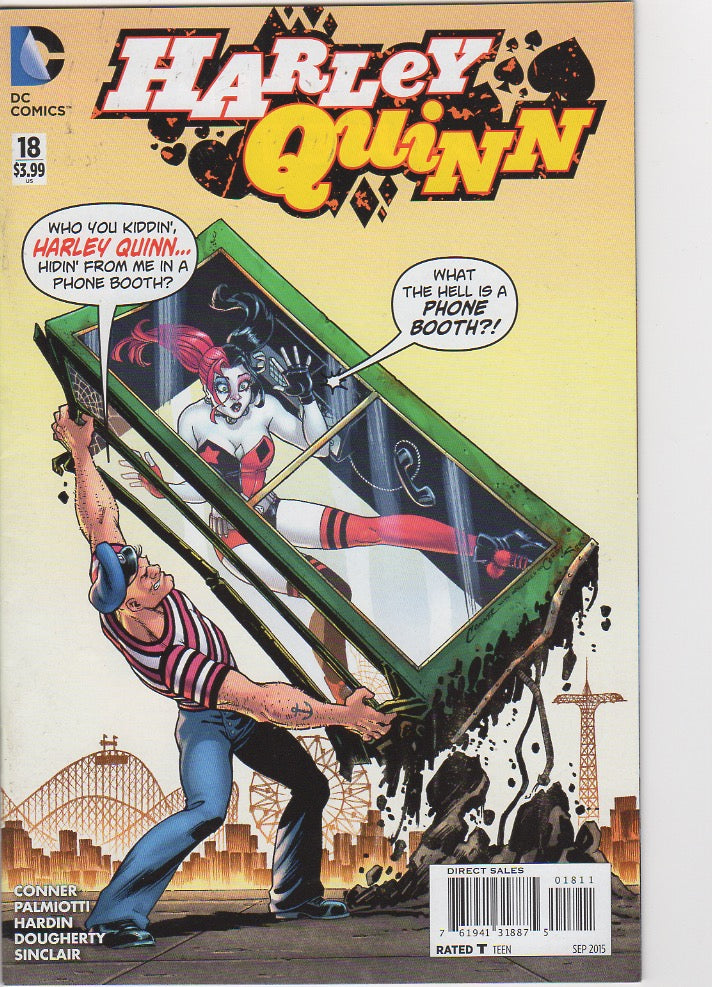 Harley Quinn New 52 - 18 VF