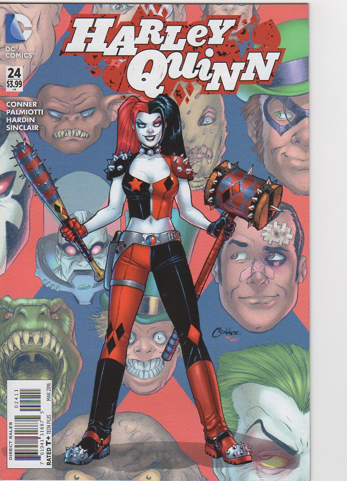 Harley Quinn New 52 - 24 VF
