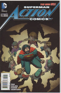 Action Comics Vol 2 - 39 VF+