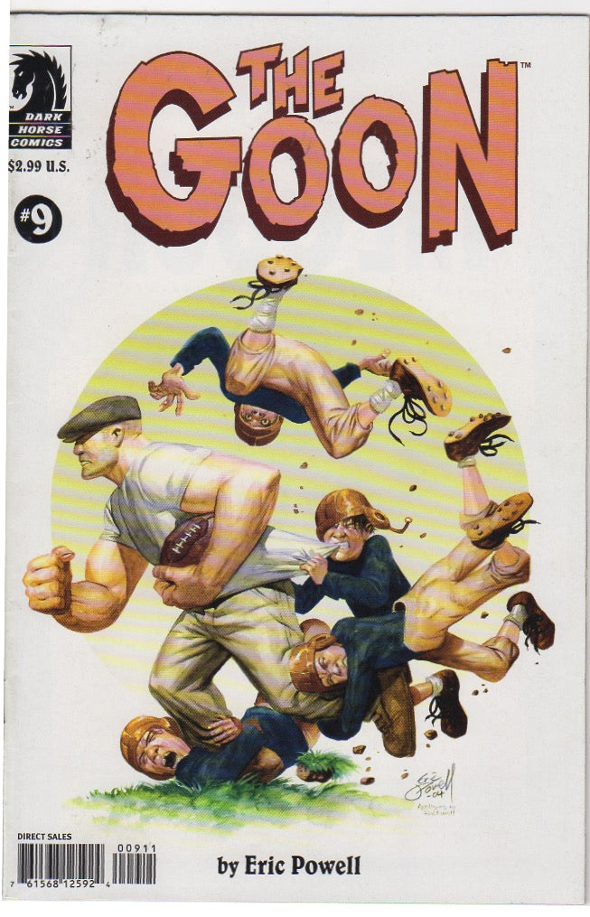 The Goon Issue 9 VF+