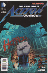 Action Comics Vol 2 - 36 VF+