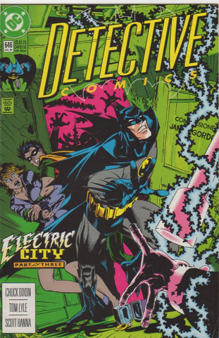 Detective Comics (Batman) 646 - F+