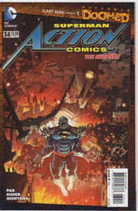 Action Comics Vol 2 - 34 VF+