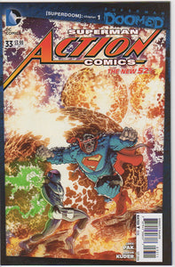 Action Comics Vol 2 - 33 VF+