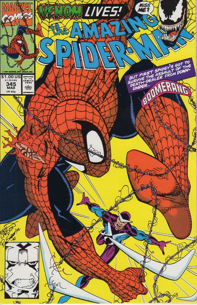 Amazing Spider-Man 345 VF