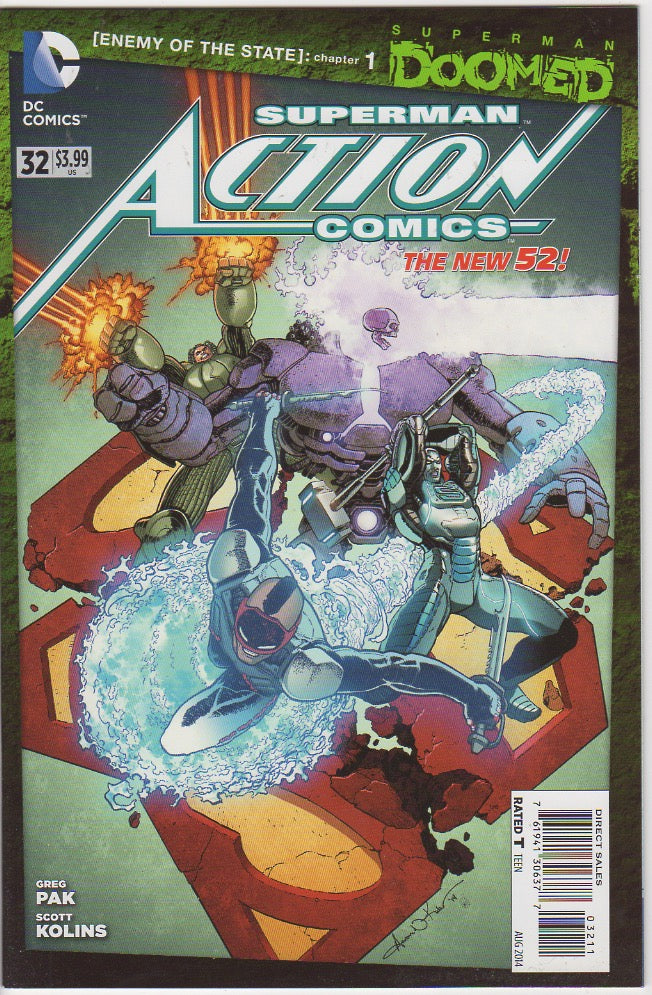Action Comics Vol 2 - 32 VF+