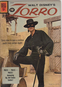 Dell Westerns - Zorro 14  F+