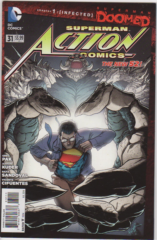 Action Comics Vol 2 - 31 VF+