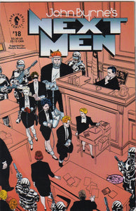 John Byrne's Next Men 18 VF+