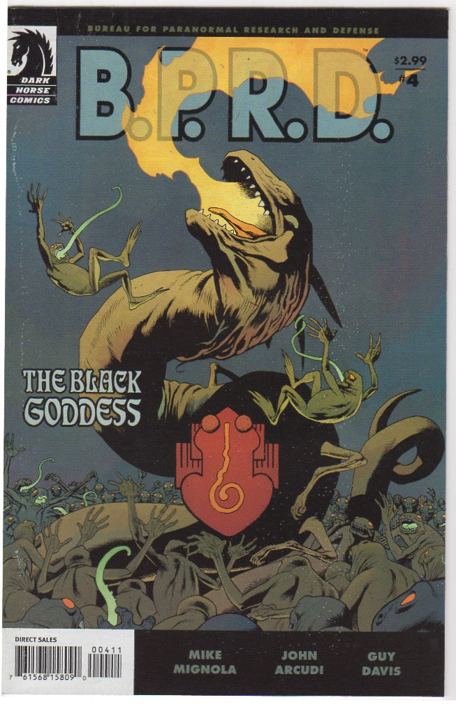 B.P.R.D - The Black Goddess issue 4 VF