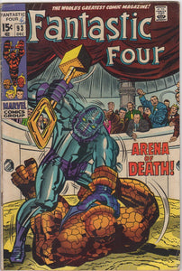 Fantastic Four Vol 1 - 93 F-