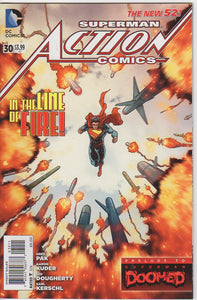 Action Comics Vol 2 - 30 VF+